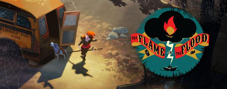 flame int the flood test banner