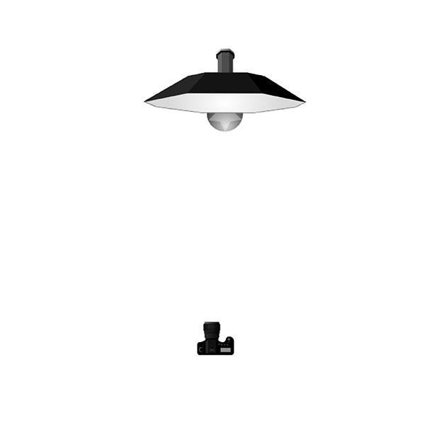 Josan Huan a Profoto termékeivel világít fényképezéskor.