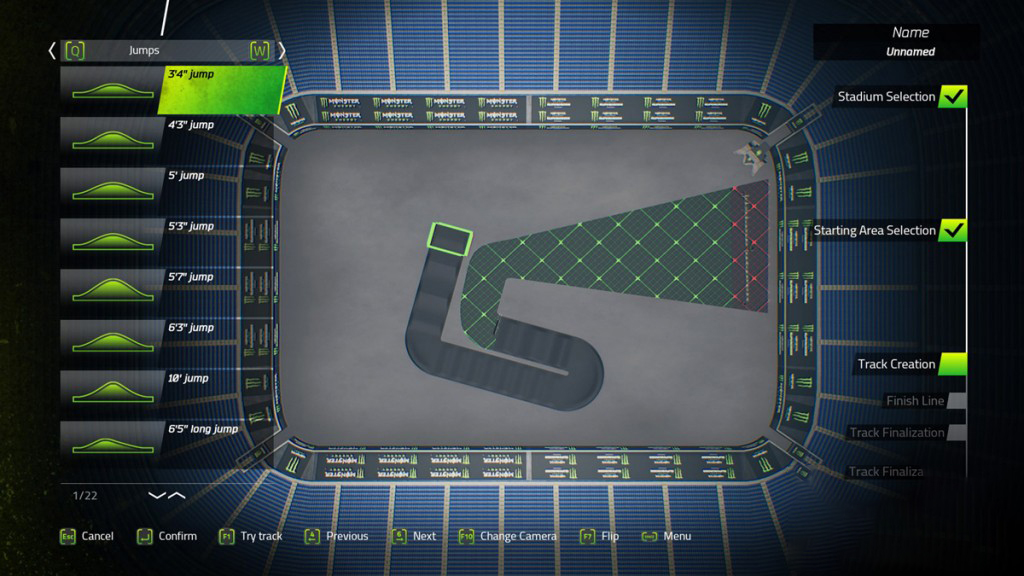 monster energy supercross offical video game test
