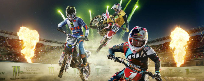 monster energy supercross offical video game test banner
